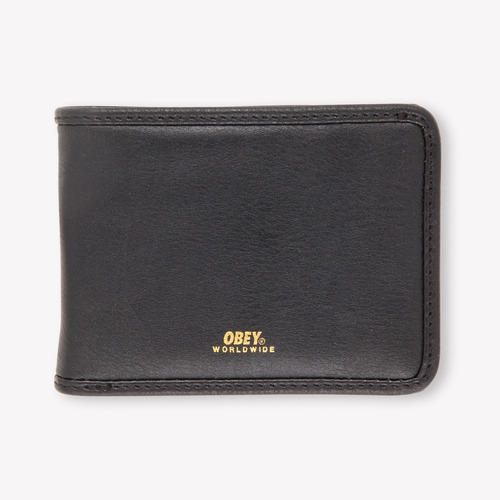 OBEY 오베이지갑_GENTRY BI-FOLD WALLET-BLACK