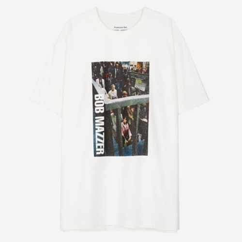 앤더슨벨 반팔티_UNISEX BOB MAZZER COLLABORATION TEE(ATB210U)-WHITE