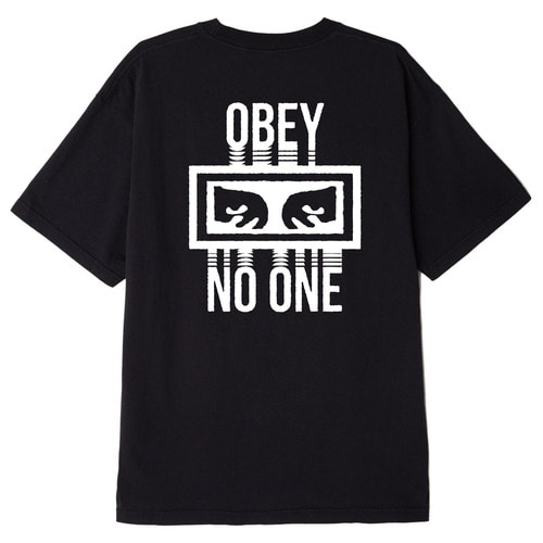 OBEY 오베이 반팔티_NO ONE TEE-BLACK
