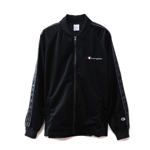 챔피온재팬 자켓_VELOUR FULL ZIP JERSEY JACKET-BLACK(C3-N609-090)