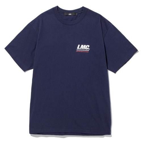 엘엠씨 반팔티_LMC ACTIVE GEAR TEE-NAVY