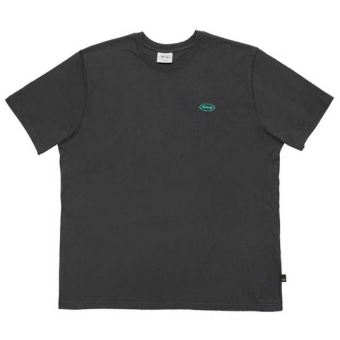 87MM 엠엠엘지 티셔츠 MOUNTAIN HF TEE-CHARCOAL BLACK